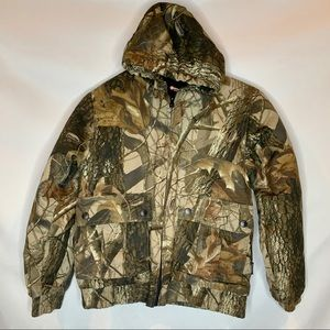 Outfitters Ridge Youth Camo Puffer Jacket Hunting